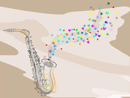 soprano saxophone: Fondo musical