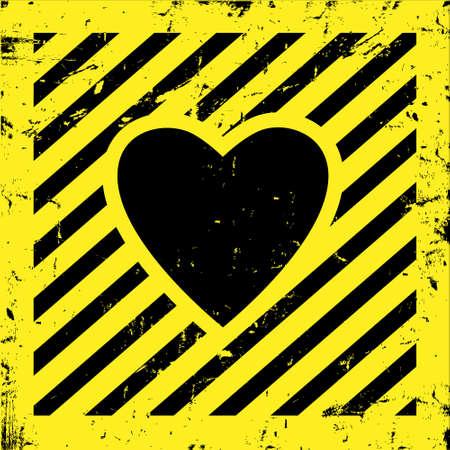 heart under: Creative background for Valentine`s day