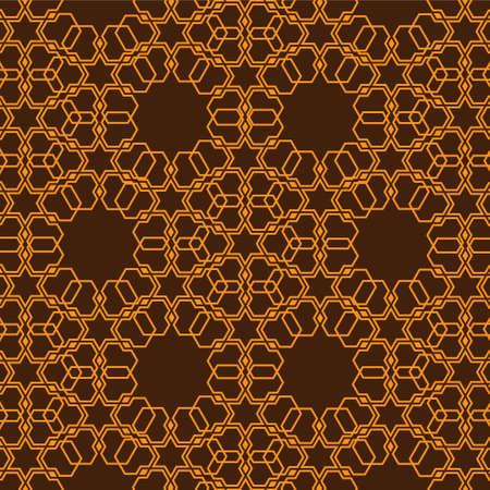 Geometric seamless pattern in islamic style. Vector