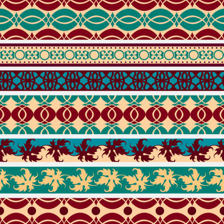 Set of  vintage borders.Vector eps10 Vector