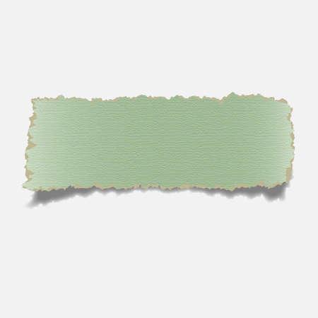 ecartel�: R�aliste d�chir� le papier banner.Vector eps10