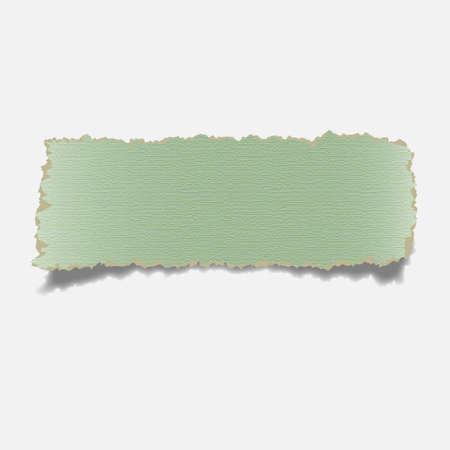 plied:  Realistic torn paper banner.Vector eps10