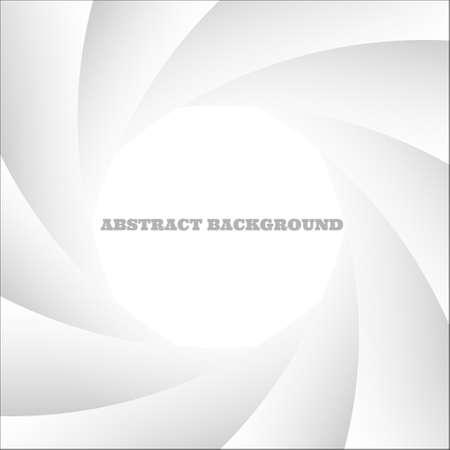 serrande: Astratto, bianco shutter photo.Vector eps10 Vettoriali