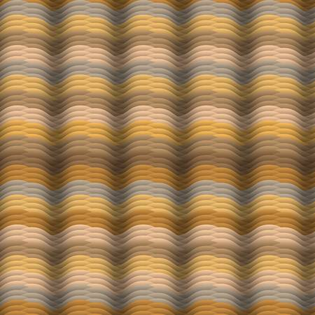 Seamless vector abstract waves pattern Endless texture in warm colors Stock Vector - 12493920
