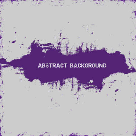 Violet paint abstract background Vector eps10 Stock Vector - 12493837
