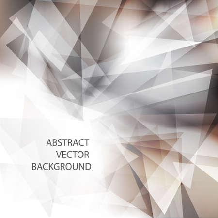 Geometric grey background Vector eps 10 Stock Vector - 12493855