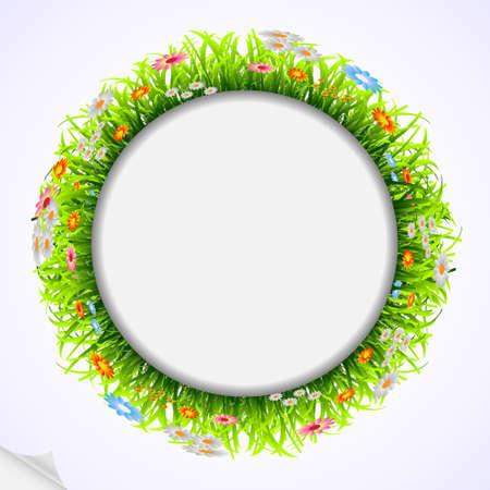 Spring frame Vector eps 10 Stock Vector - 12493823