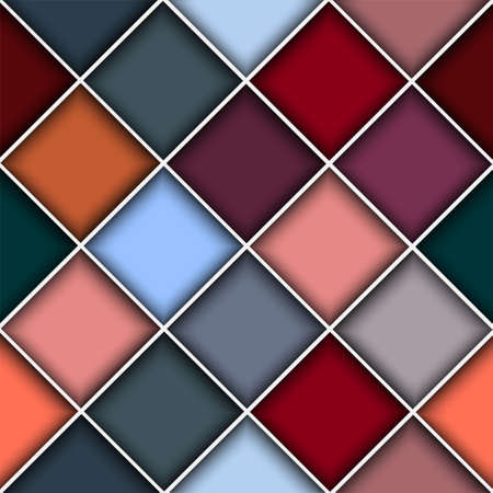 multifaceted:  Square structure background.Vector seamless eps10