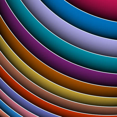3d abstract background of colorful lines.Vector eps 10 Stock Vector - 12825769