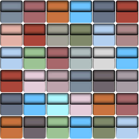 Background with  colorful blocks.Vector seamless  Vector