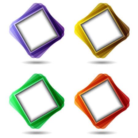 Set of colorful speech bubbles.Vector eps10 Stock Vector - 12826969