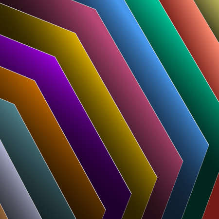 3d abstract background of colorful paper Stock Vector - 12967156