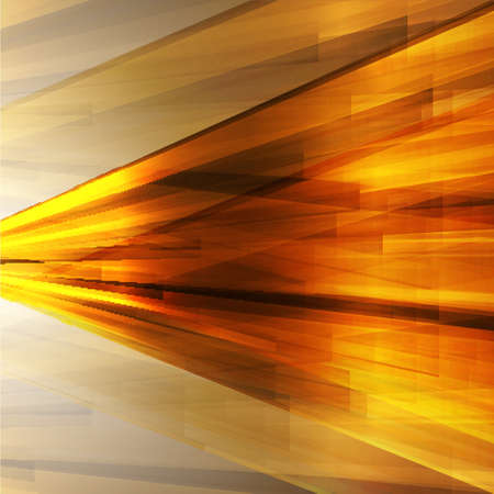 Golden abstract background for design. Vector