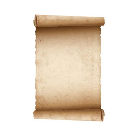 Vieux papier défilement Vecteurs