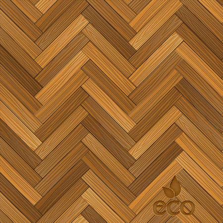 Vector houten parketvloer. Vector eps10