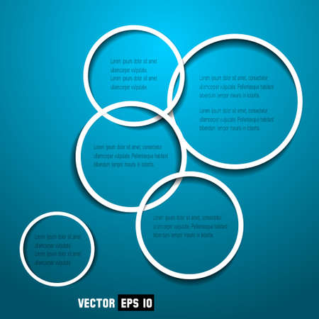 Abstract web design circles Stock Vector - 13277545