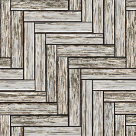 Grey wood parquet. Vector