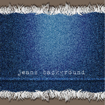 Background of Denim texture. Vector