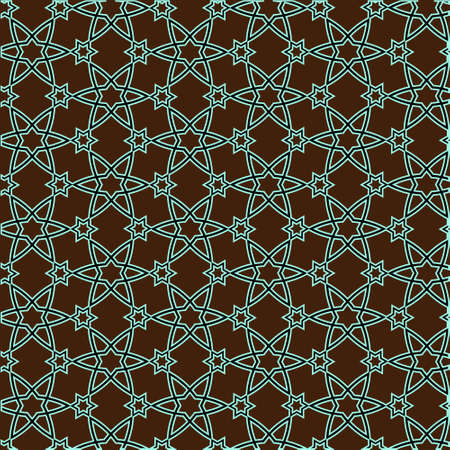 pattern on islamic motif Vector