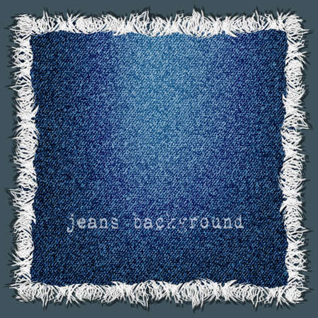 sew label:  Denim texture background