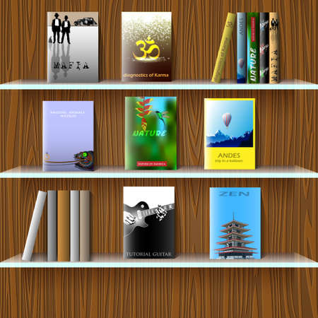 bestseller: Bookshelf with books