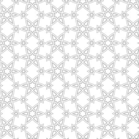 in islamic art: Delicate pattern in arabic style background Illustration