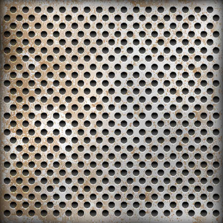 ironworks: texture of rusty metal background