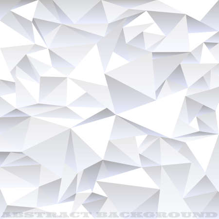 crinkle: Light grey crumpled abstract background