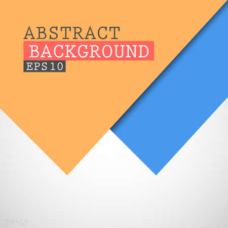 handmade shape: Abstract paper background
