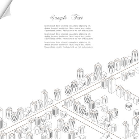 Architecture concept background Vector