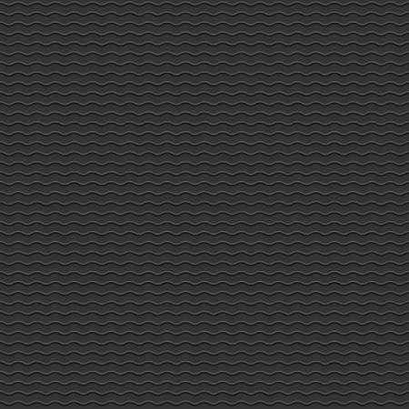 cf: Nero seamless con le onde stilizzate