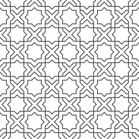 r�p�titif: Mod�le d�licat dans un style sans soudure Illustration