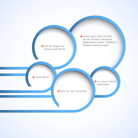 web pages: Abstract web design bubbles.