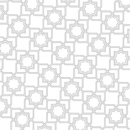 muslim pattern:  Arabic delicate pattern background  Illustration