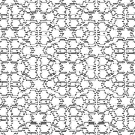 r�p�titif: Arabian motif d�licat. Vector illustration