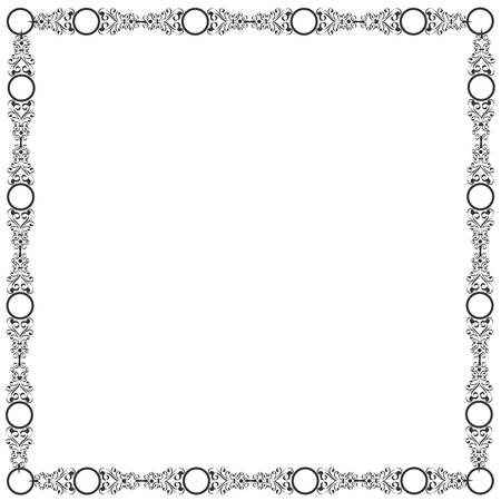 Decorative elegant frame Stock Vector - 14659801
