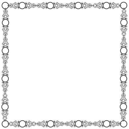 Decorative elegant frame Stock Vector - 14659801