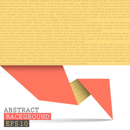 Paper origami vector background  Vector