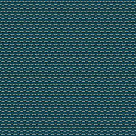 cf: Scuro modello blu senza soluzione di continuit� con le onde stilizzate Vettoriali