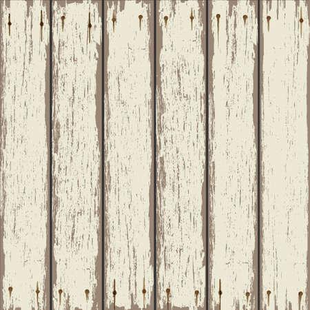 Oude houten hek. Vector achtergrond