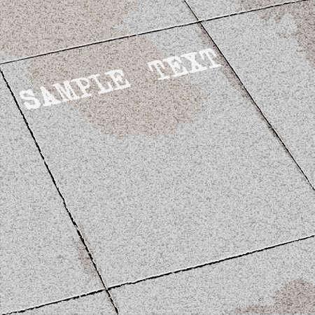 Vector background of tiles ground  Stock Vector - 14659833
