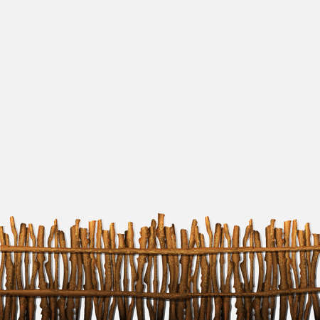 Rustic fence   Vector