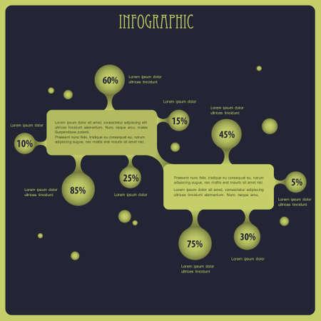 economies: fond infographique