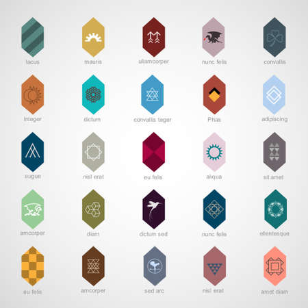 Icons and elements for design Vector
