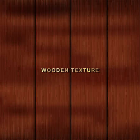 Dark wooden texture. Vector