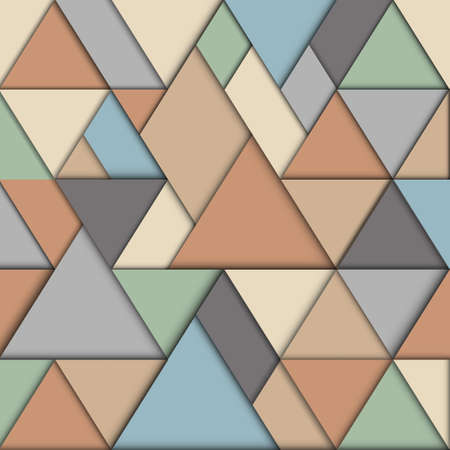 Retro origami background  Vector