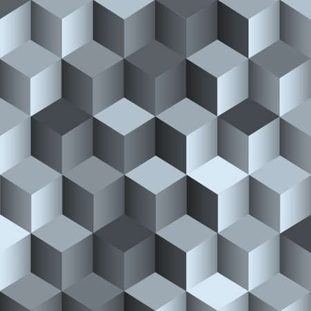 3d monochrome background with cubes.Vector eps10 Vector