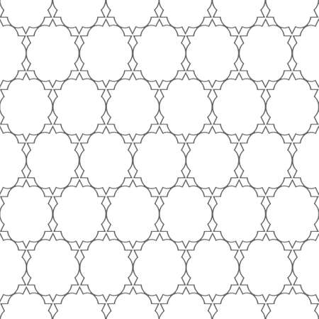 Delicate pattern in arabian style. Vector seamless background Stock Vector - 15931441