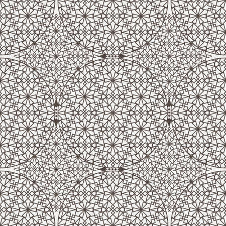 Delicate pattern in arabic style. Vector background Vector Illustration
