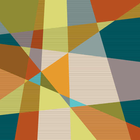 Textured retro geometric background  Vector eps10  Vector